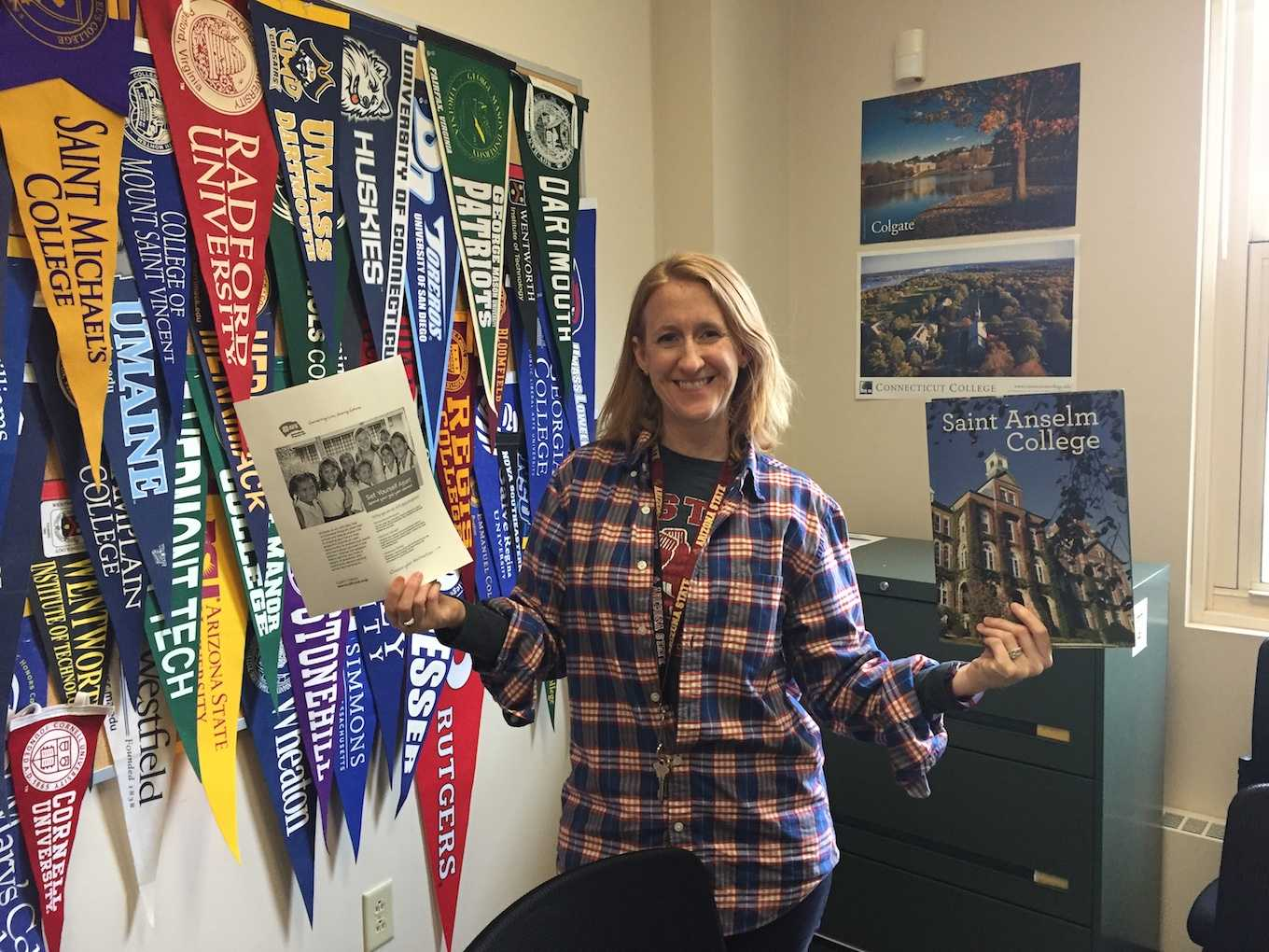 Here, IHS guidance counselor Mrs. May compares gap year programs with college options.
