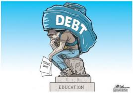 Debt is a weight over Education