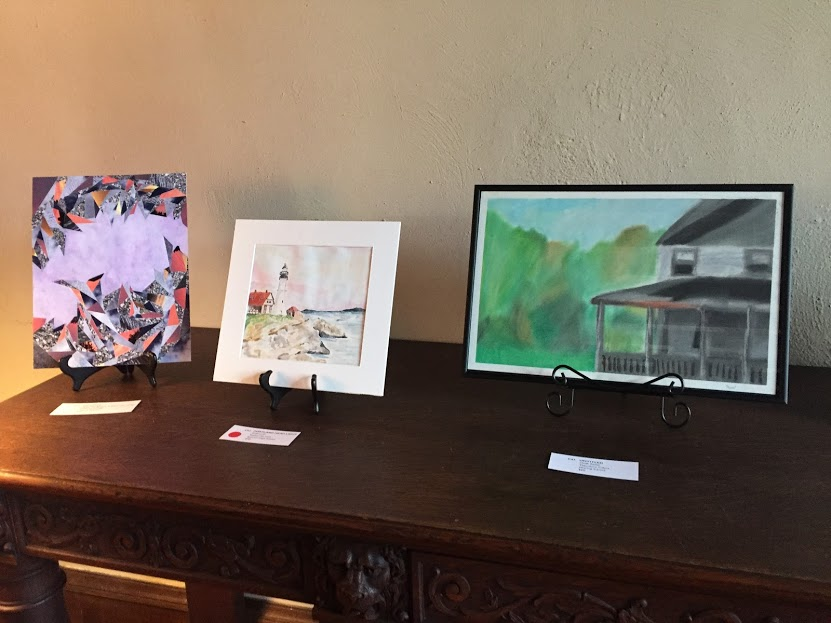Senior Portfolio Artwork Dazzles All at the Crane Estate Art Show