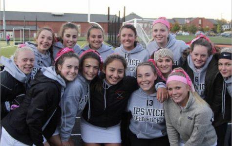 IHS girls field hockey team